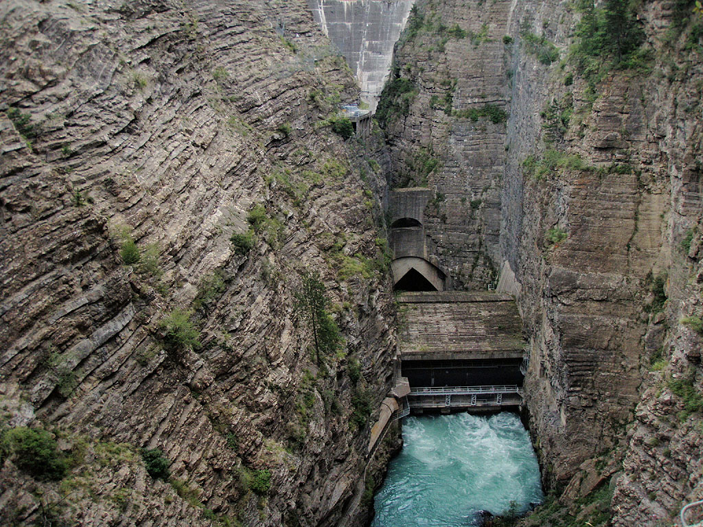 Très Via Ferrata des Gorges du Sautet - « Le Grand frisson » - Barrage  JN56